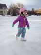Ice Skating on local ponds