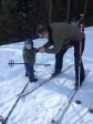 Cross Country skiing, Mill Creek, Paradise Valley